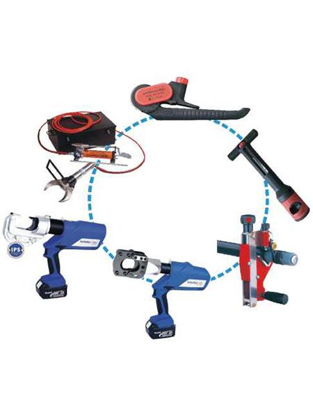 供电电缆快速抢修装置